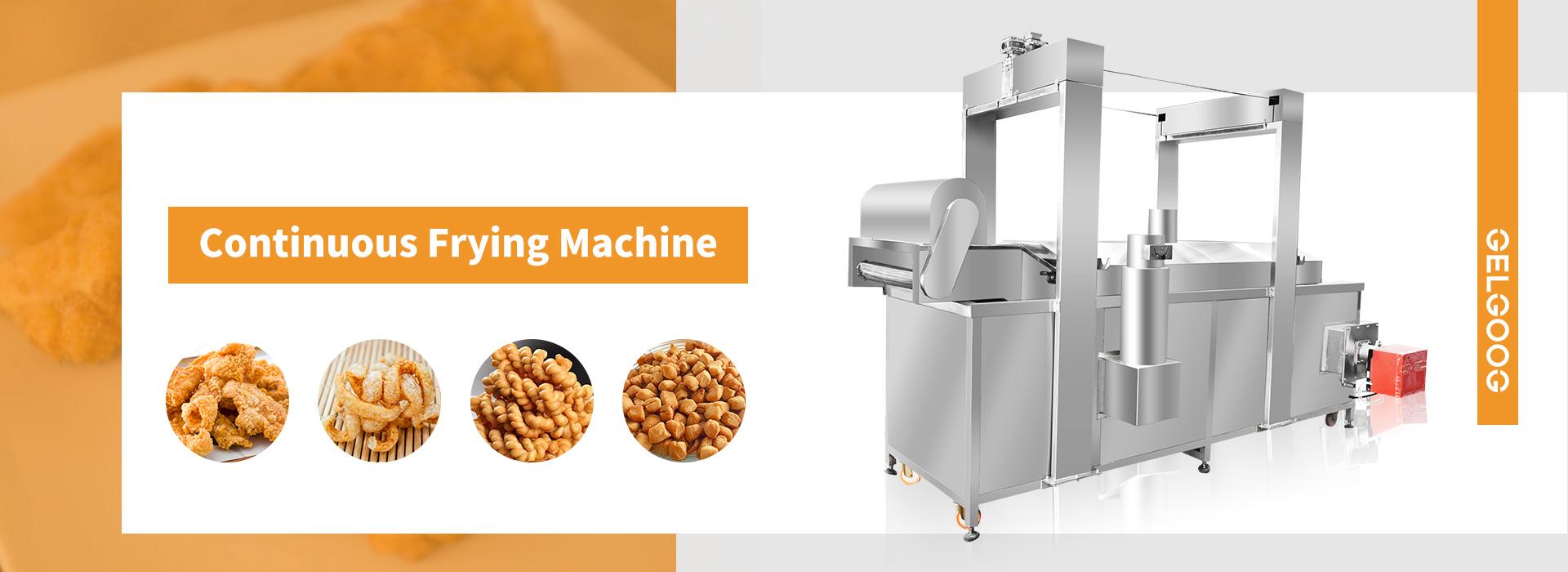 Professional Frying Machine Manufacturer