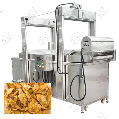Chicken Skin Frying Machine